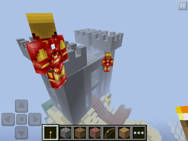 Good thing Iron Man can fly!