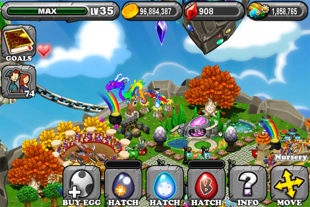 DragonVale Equinox Dragon Egg