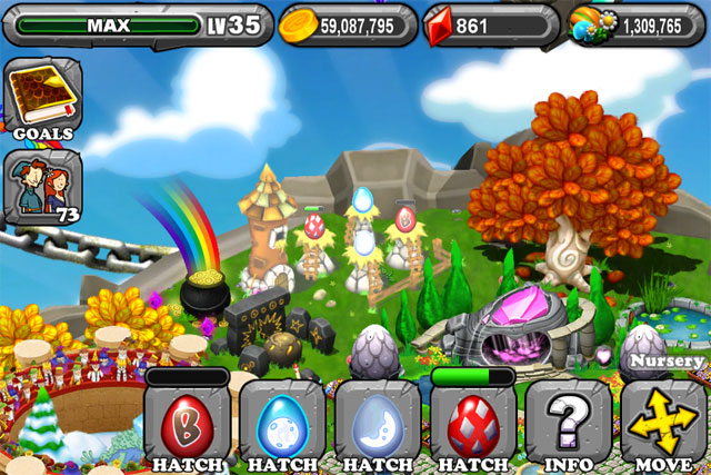 The 1st Egg is the DragonVale Paper Dragon Egg