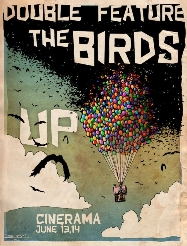 up birds mashup poster by  Derek Chatwood