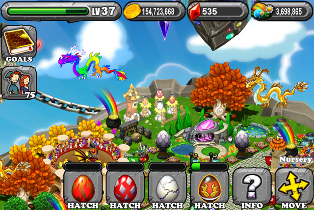 DragonVale Obsidian Dragon Egg