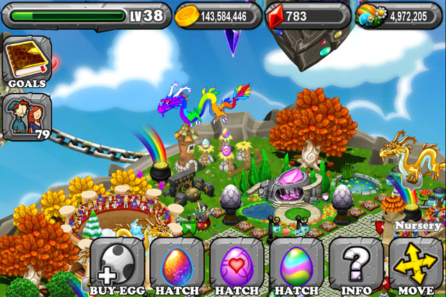 DragonVale Topaz Dragon Egg