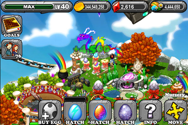Dragonvale Hail Dragon Egg