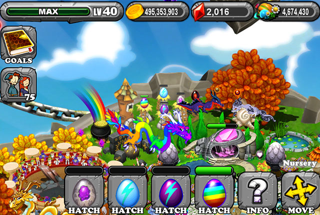The 1st Egg is the Dragonvale Amethyst Dragon Egg