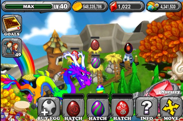 The 1st Egg is the Dragonvale Rose Dragon Egg