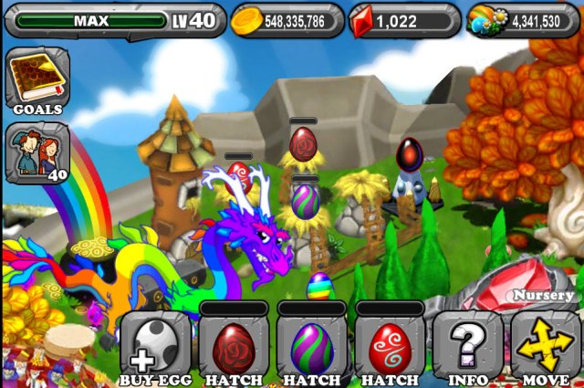 Dragonvale Rose Dragon Egg