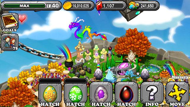 Dragonvale Celtic Dragon Egg