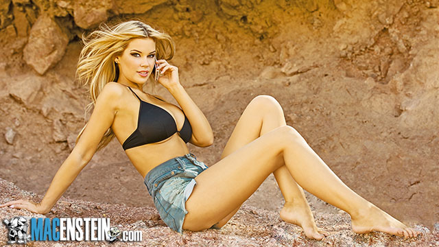 Macenstein's Mac Chick of the Month Jessa Hinton