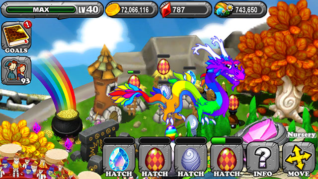 The 1st Egg is the Dragonvale Diamond Dragon Egg
