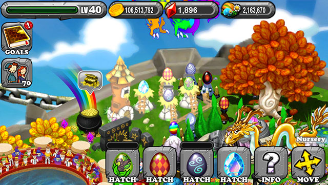 Dragonvale Terradiem Dragon Egg