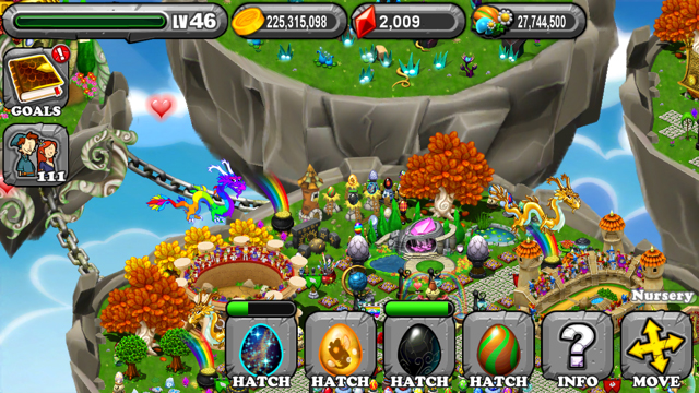 DragonVale DarkRift Dragon Egg