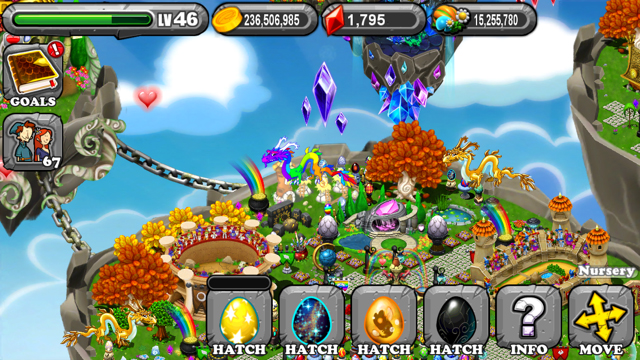 DragonVale Flash Dragon Egg