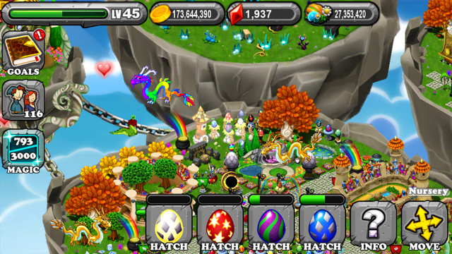 DragonVale Glass Dragon Egg