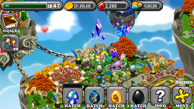 DragonVale Lotus Dragon Egg