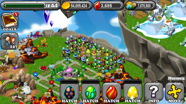 Dragonvale Acid Dragon Egg