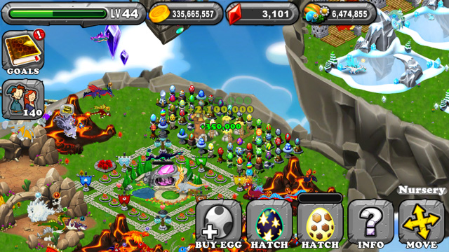 Dragonvale Mirage Dragon Egg