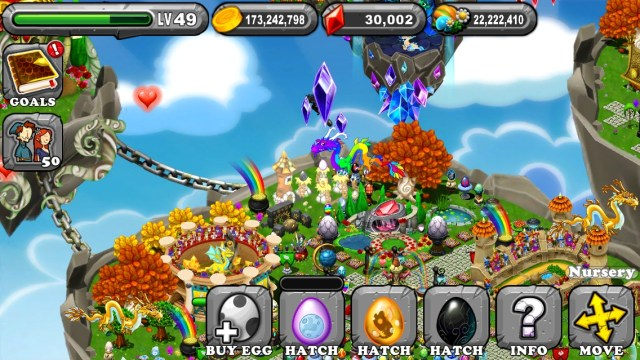 Dragonvale Moonstruck Dragon egg