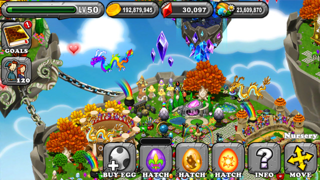 Dragonvale Carnival Dragon Egg