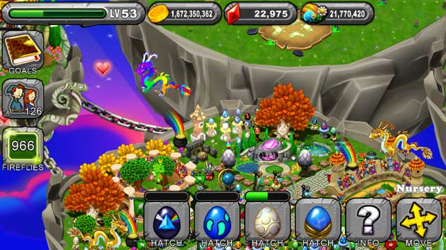 DragonVale Prism Dragon Egg