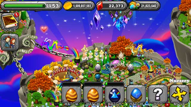 DragonVale Geode Dragon Egg