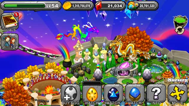 DragonVale Sunstruck Dragon Egg