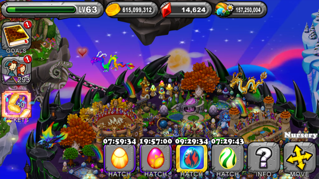 DragonVale Midday Dragon Egg