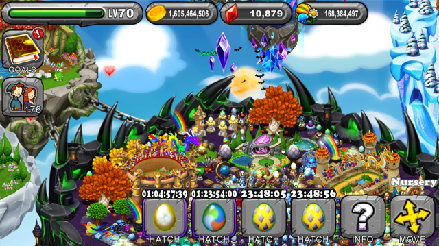 Dragonvale Double Leap Year Dragon Egg