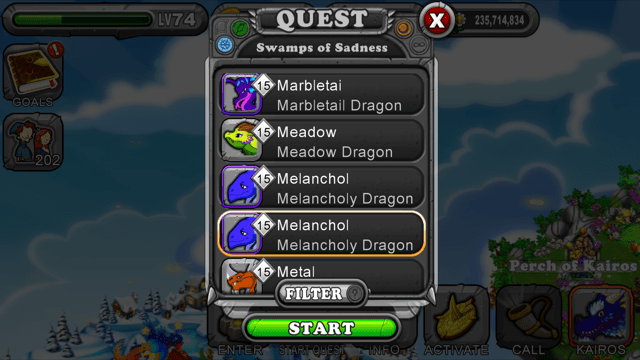 Win DragonVale Quests