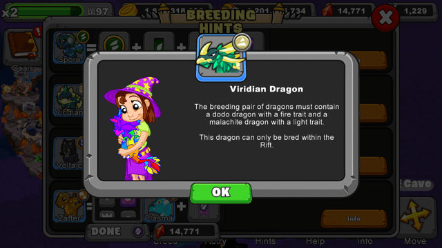 Dragonvale Viridian