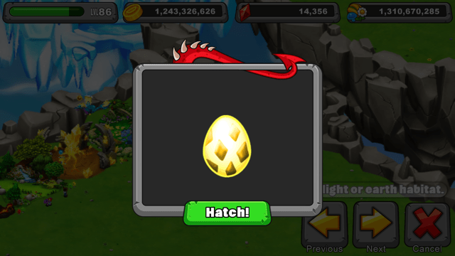 dragonvale arid dragon egg