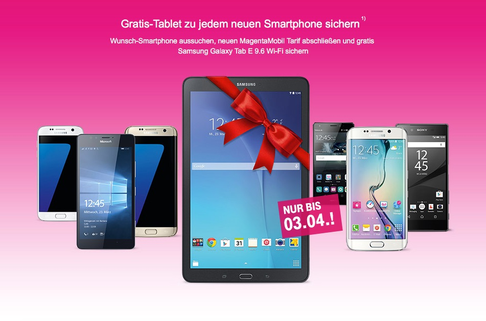 Ipad Mini Kaufen Telekom-aktion: Iphone 6s (plus) Kaufen + Tablet Gratis