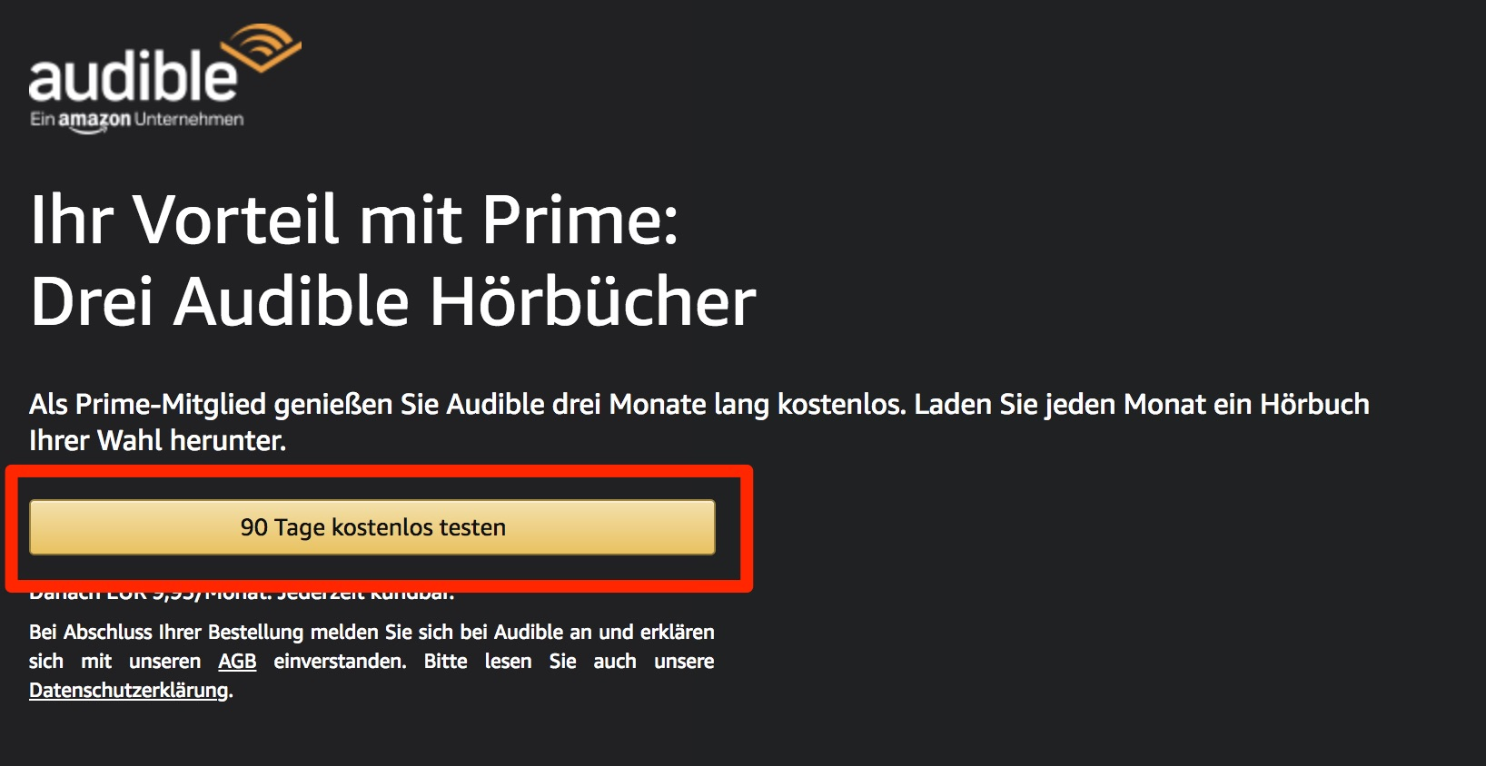 Amazon Audible Kostenlos Amazon Prime Deal 3 Monate Audible Kostenlos Inkl 3