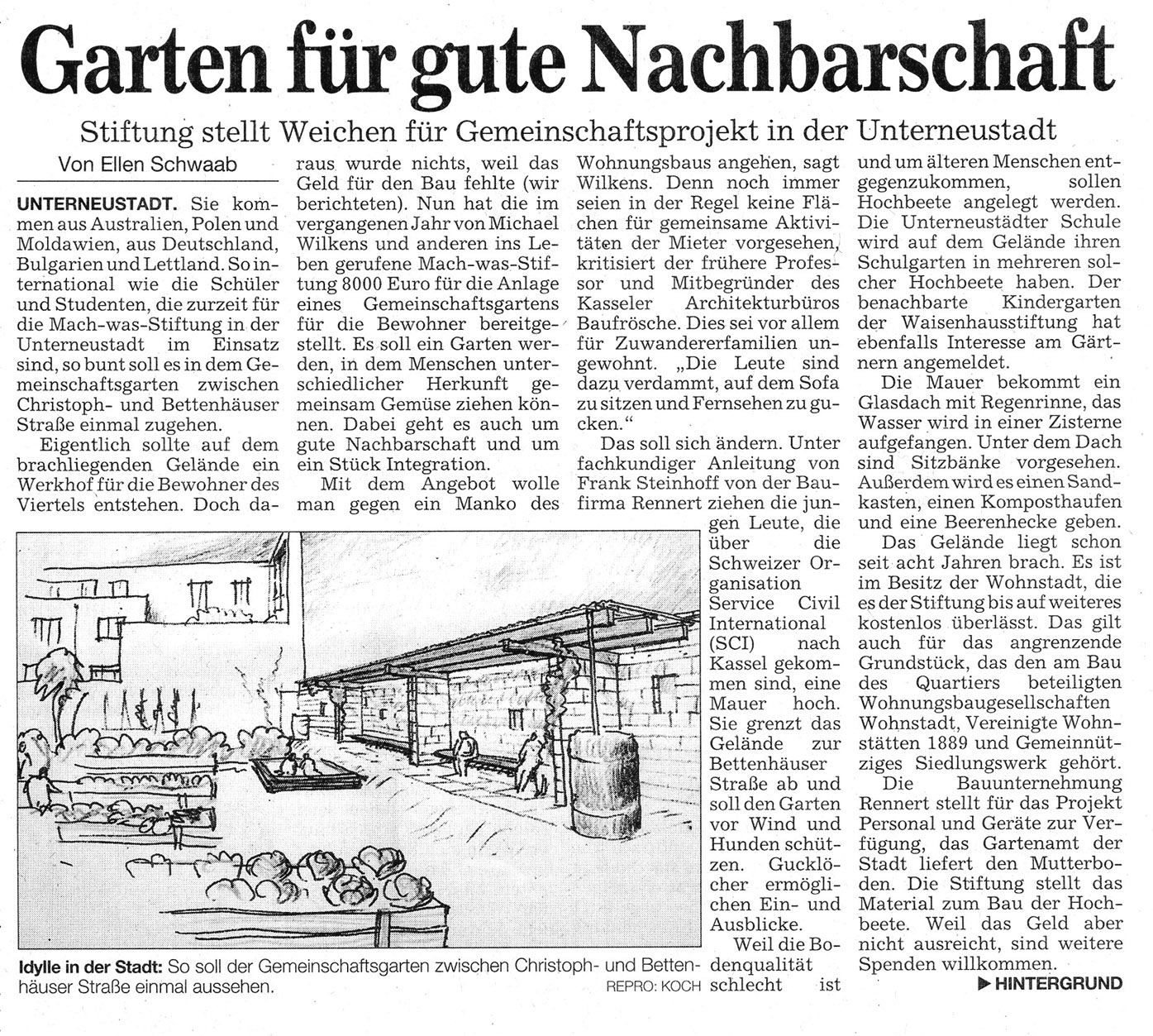 Baufirma Kassel April 2006 Mach Was Stiftung