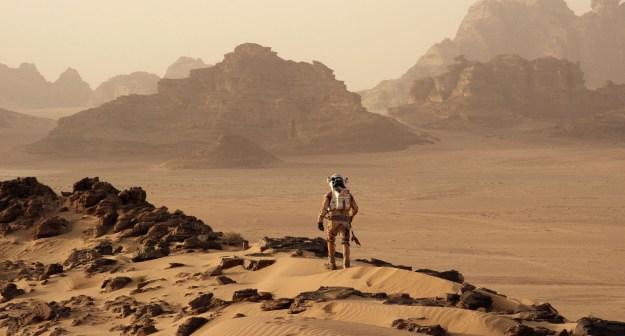 The Martian Overlook