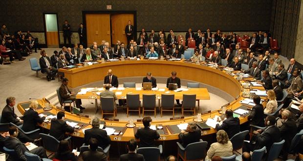 جلسة عامة لمجلس الأمن