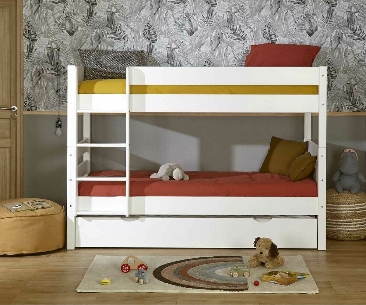 Lit Enfant Pratique Le Lit Enfant Superposé 1 2 3 2 Couchages Gain De Place