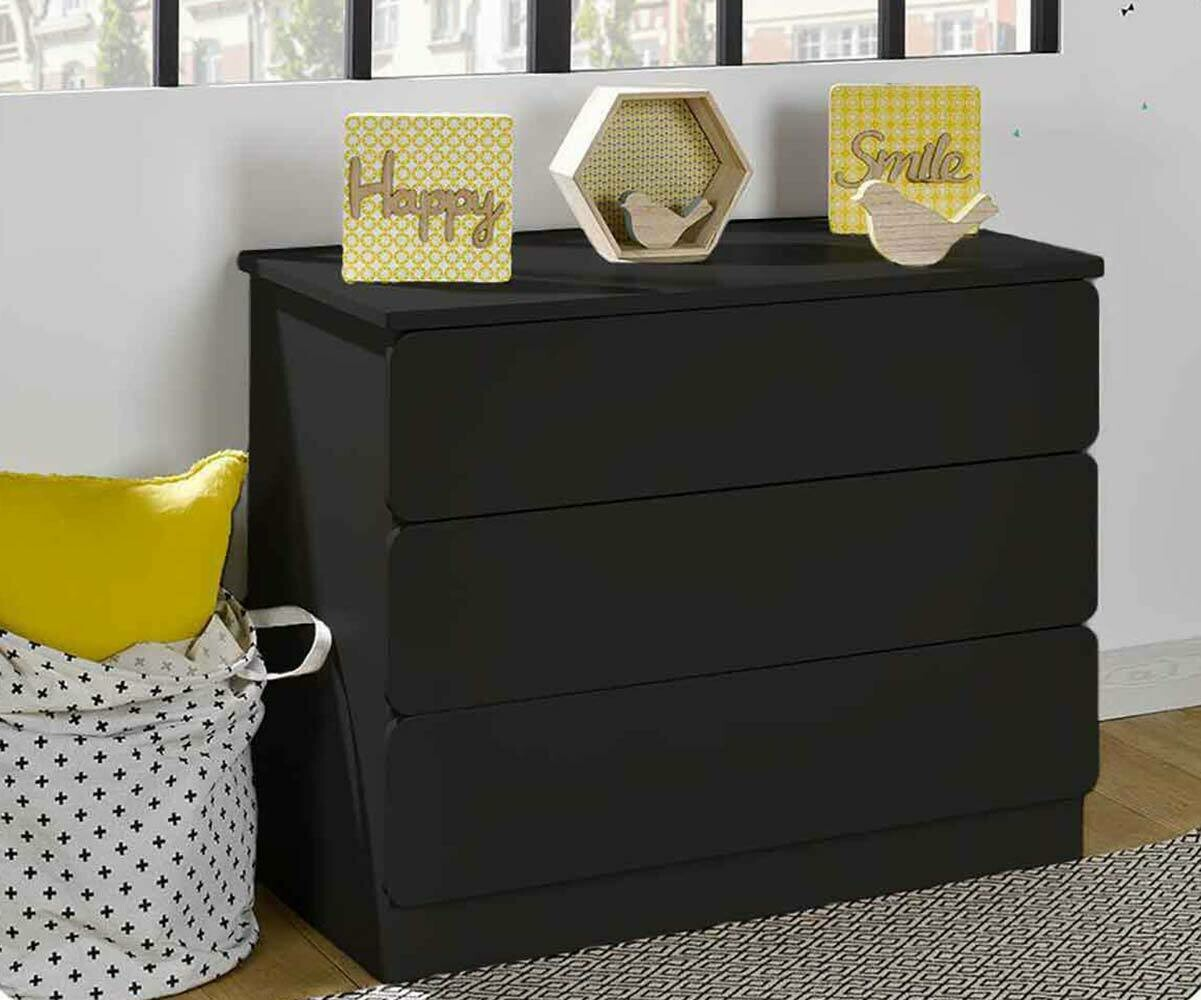 Housse Couette Design Commode Enfant Twist Blanche - Mobilier Ecologique Made In