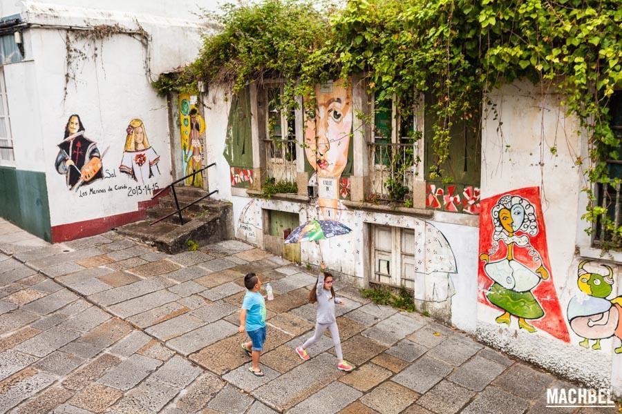 Meninas de Canido en Ferrol