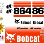 Bobcat 864 G replacement decal kit