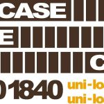 Case 1840 Uni Loader New Replacement Decal kit