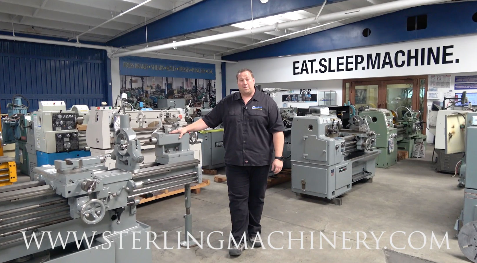 Industrial Regal Machinery Videos Of Dealer Machine Tools Showing Used Lathe