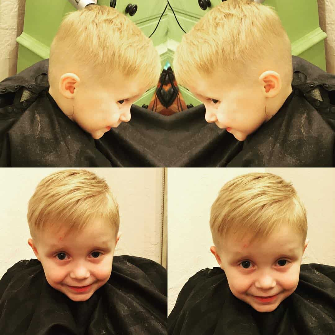 Hairstyles For A Boy 70 Popular Little Boy Haircuts Add Charm In 2019