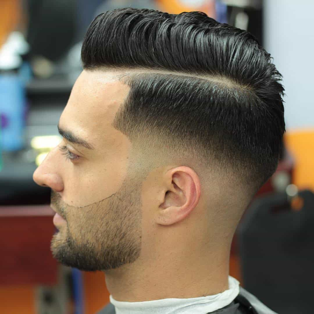 Short Haircuts And Beards 85 Popular Hard Part Haircut Ideas Choose Yours 2018