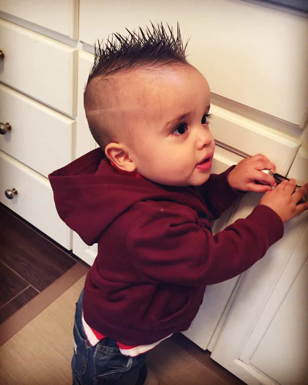 Hairstyles For A Boy 50 Cute Baby Boy Haircuts For Your Lovely Toddler 2019