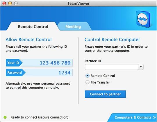 rdp for mac - teamviewer for mac