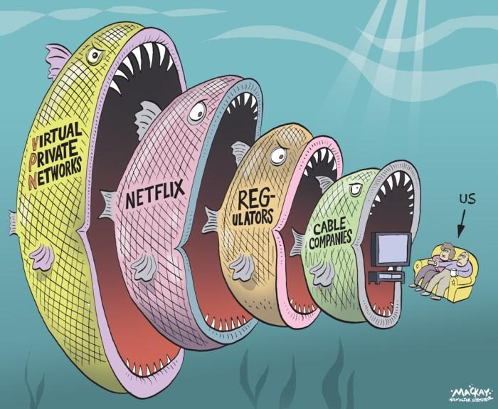 Editorial Cartoon by Graeme MacKay, The Hamilton Spectator Ð Thursday ...