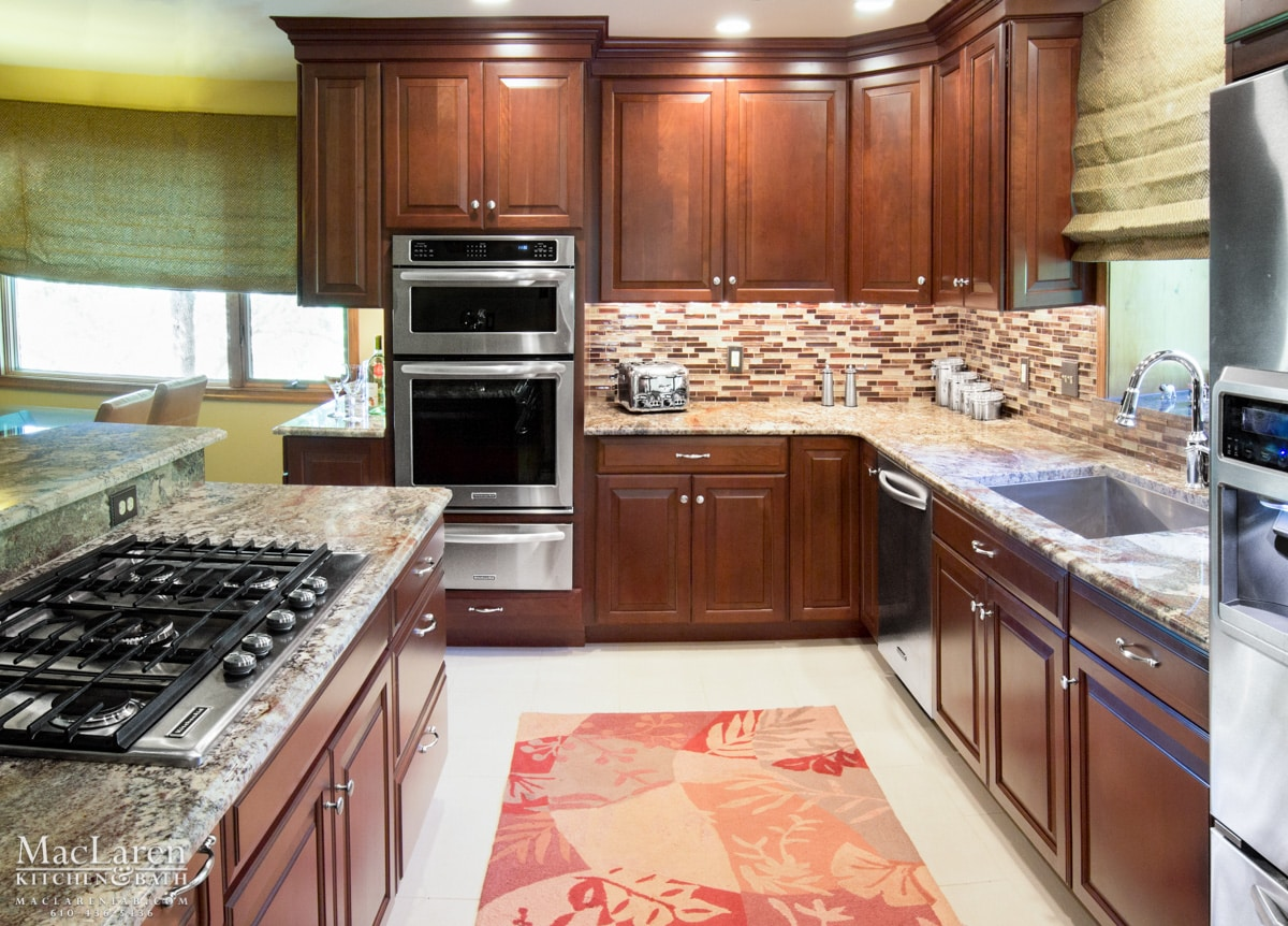 Granite Countertops West Chester Pa Neptune Bordeaux Granite In Downingtown Pa Maclaren