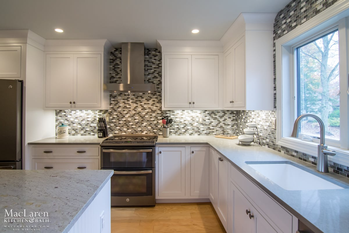 Granite Countertops West Chester Pa River White Granite Island In West Chester Pa Maclaren