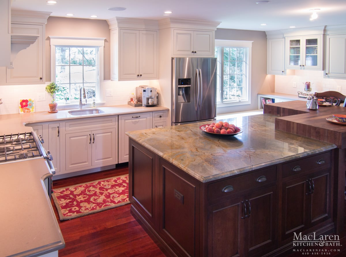 Granite Countertops West Chester Pa Custom Wood Countertops Maclaren Kitchen And Bath