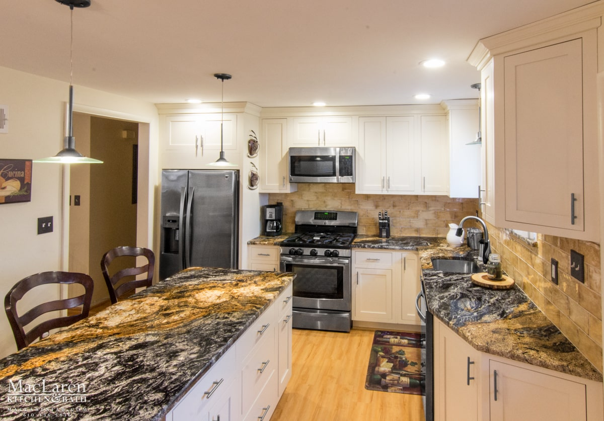 Granite Countertops West Chester Pa A Slice Of Tuscany Springfield Pa Maclaren Kitchen And